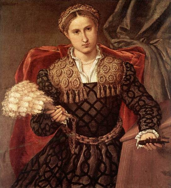 Portrait of Laura da Pola 1544